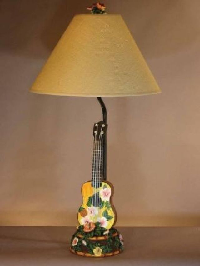Ukulele Electric Lamp 29