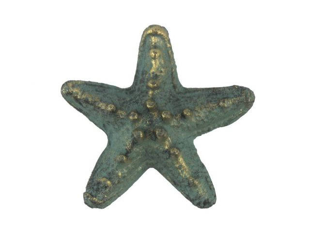 Antique Bronze Cast Iron Starfish Bottle Opener 3