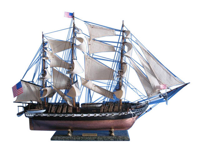 USS Constitution Limited Tall Model Ship 38