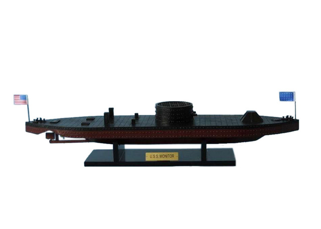 USS Monitor Civil Warship Model 21