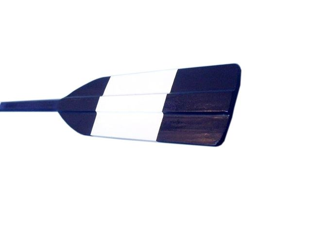 Wooden River City Rowing Club Decorative Square Boat Paddle w- Hooks 50