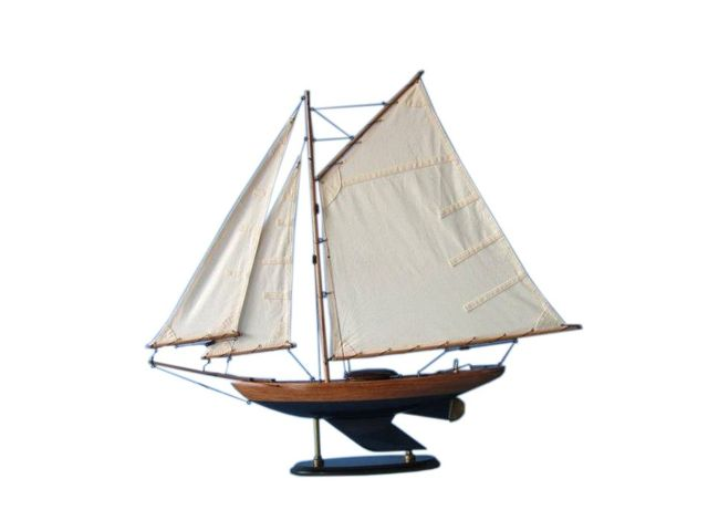Wooden Admirals Sloop Decoration 26