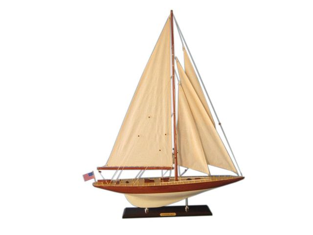 Wooden Lionheart Limited Model Sailboat Decoration 35