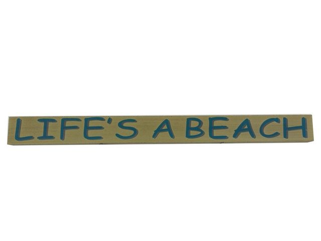 Wooden Lifes a Beach Sign 18