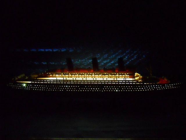 RMS Britannic Limited 50 w- LED Lights Model Cruise Ship