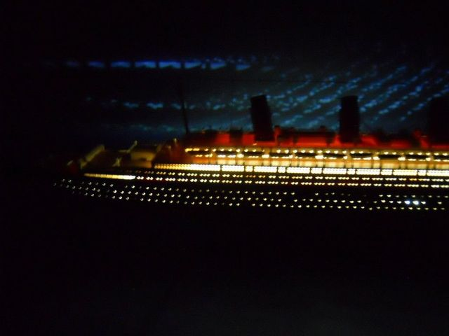 Olympic Limited w- LED Lights Model Cruise Ship 50