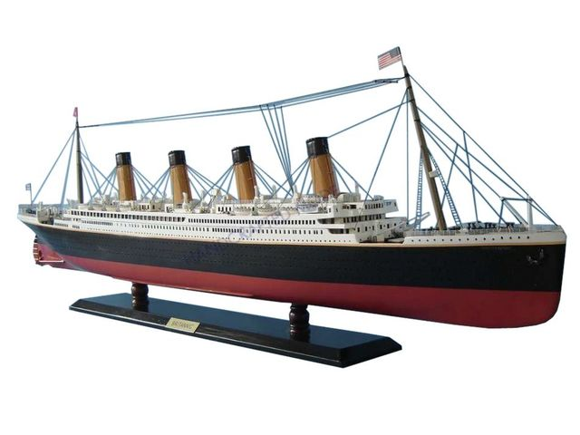 RMS Britannic Limited Model Cruise Ship 40