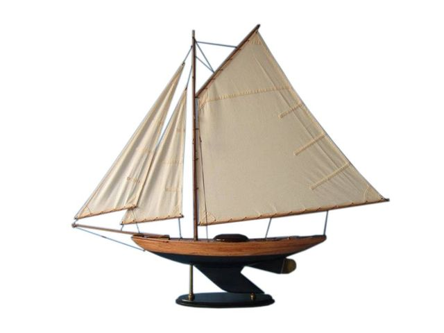 Wooden Admiralandapos;s Sloop Decoration 40