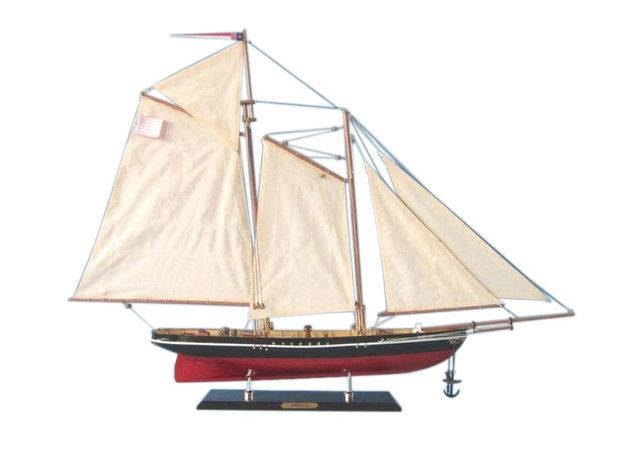 Wooden America Limited Model Sailboat 35