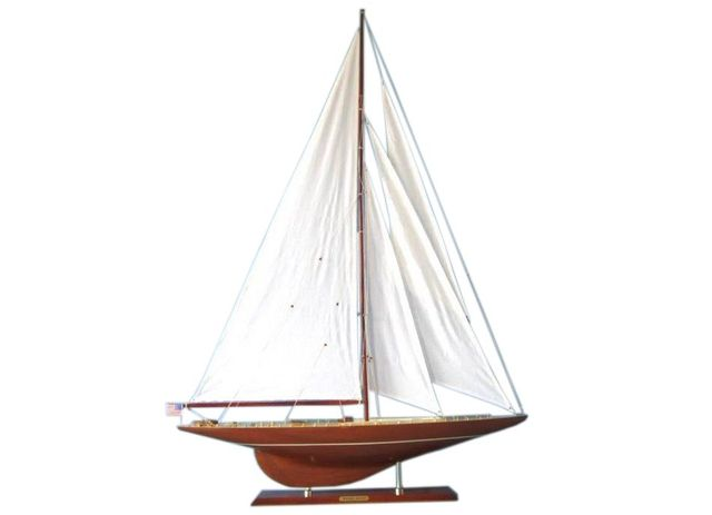 Wooden Whirlwind Limited Model Sailboat Decoration 50
