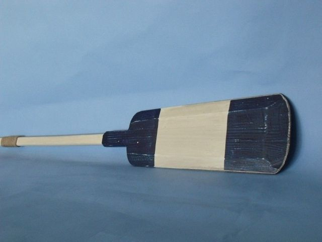 Wooden Seabrook Squared Rowing Oar w- Hooks - 62