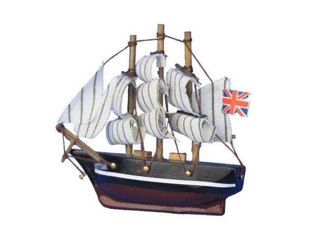 Wooden Cutty Sark Tall Model Clipper Ship Magnet 4