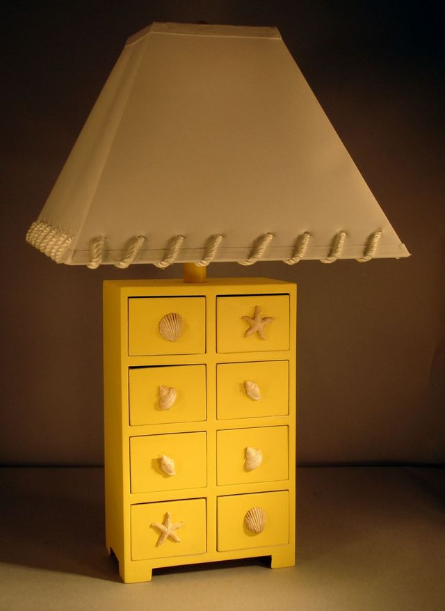 8-Drawer Shell Electric Lamp 30