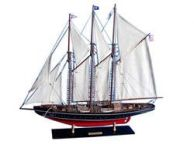 Wooden Atlantic Limited Model Sailboat 32