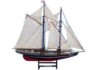 Wooden Bluenose 2 Limited Model Sailboat 24