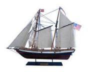 Wooden Lynx Model Ship 24