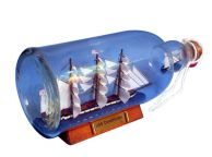 USS Constitution Model Ship in a Glass Bottle 11