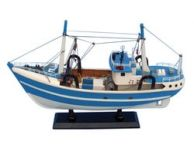 Wooden Im Hooked Model Fishing Boat 19