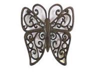 Cast Iron Butterfly Trivet 8\