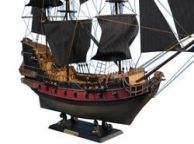Captain Kiddandapos;s Black Falcon Limited Model Pirate Ship 36 - Black Sails