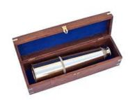 Deluxe Class Hampton Collection Brass Spyglass with Rosewood Box 36