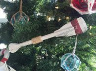 Wooden Oar Ornaments
