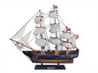 Wooden HMS Bounty Tall Model Ship 20