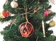 Glass Float Christmas Ornaments