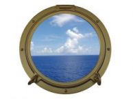 Gold Decorative Ship Porthole Window 15