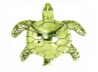 Solid Brass Turtle Door Knocker 8