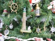 Boone Island Lighthouse Christmas Tree Ornament