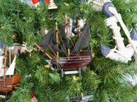 Wooden Black Bartandapos;s Royal Fortune Christmas Tree Ornament