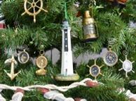 Cape Romain Lighthouse Christmas Tree Ornament