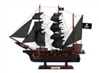 Wooden Fearless Black Sails Pirate Ship Model 20