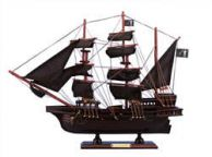 Wooden Blackbeardandapos;s Queen Anneandapos;s Revenge Model Pirate Ship 15