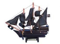Wooden Blackbeardandapos;s Queen Anneandapos;s Revenge Model Pirate Ship 7