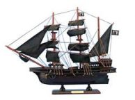 Wooden Black Bartandapos;s Royal Fortune Model Pirate Ship 20
