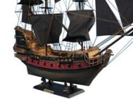 Black Barts Royal Fortune Limited Model Pirate Ship 36 - Black Sails