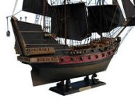 Black Bartandapos;s Royal Fortune Limited Model Pirate Ship 24 - Black Sails
