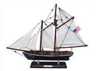 Wooden America Model Sailboat Decoration 16\