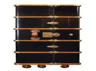 Stateroom Armoire, Black 51