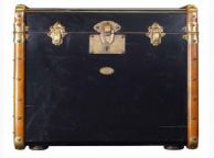 Stateroom Trunk End Table, Black 22
