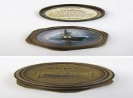 Eight-Sided Antique Brass 100 Year Anniversary Titanic Compass 3