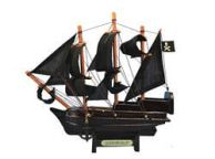 Wooden Captain Kidd\'s Adventure Galley Model Pirate Ship 7\
