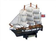 Wooden Master And Commander HMS Surprise Tall Model Ship 7