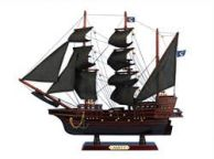 Wooden Thomas Tewandapos;s Amity Model Pirate Ship 20