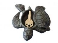 Seaworn Cast Iron Turtle Hide A Key 5