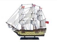 Wooden HMS Victory Tall Model Ship 20
