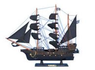 Wooden John Gows Revenge Pirate Ship Model 20