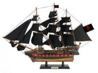 Wooden Ed Lows Rose Pink Black Sails Limited Model Pirate Ship 26